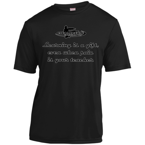 Short Sleeve Moisture-Wicking Shirt - BB Learning is a gift