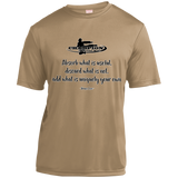 Short Sleeve Moisture-Wicking Shirt - Absorb what is useful