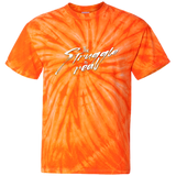 Customized 100% Cotton Tie Dye T-Shirt - The struggle is real