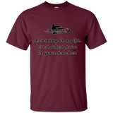 Youth Custom Ultra Cotton Tee - Learning is a gift