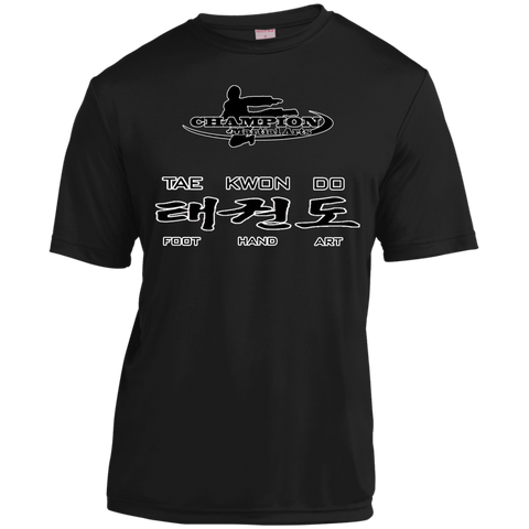 Short Sleeve Moisture-Wicking Shirt - BB TKD foot hand art