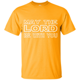 Youth Cotton Graphic Tee - May the Lord be with you