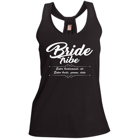 Bride Tribe- Ladies Shimmer Loop Back Tank