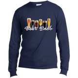 Long Sleeve Made in the US Graphic T-Shirt - B..r snob