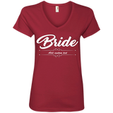 Bride - Ladies' V-Neck Tee