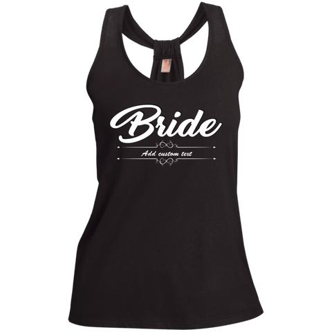 Bride - Ladies Shimmer Loop Back Tank