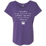 Next Level Ladies Triblend Dolman Sleeve - Child of the one true King