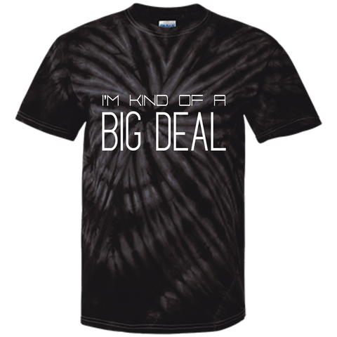 Youth Tie Dye T-shirt - I'm kind of a big deal