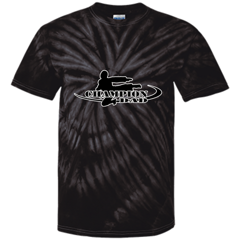 Customized 100% Cotton Tie Dye T-Shirt - Champion Dad