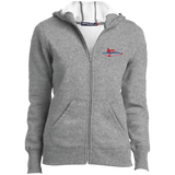 Ladies Full-Zip Hoodie - Champion Logo Embroidered