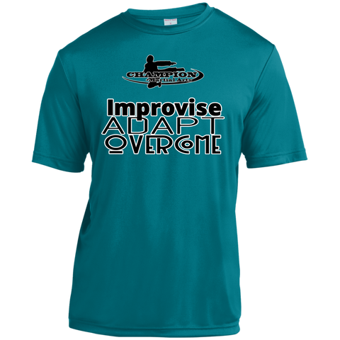 Youth Moisture-Wicking Shirt - Improvise, adapt, overcome