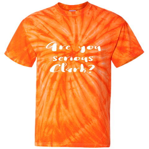 Youth Tie Dye T-shirt - Are you serious Clark?
