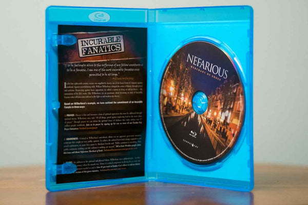 Nefarious: Merchant of Souls Blu-Ray
