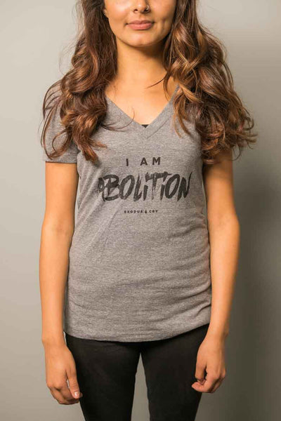 I Am Abolition Women's  V-Neck
