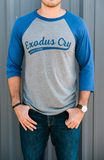 Exodus Cry Logo Baseball  T-shirt