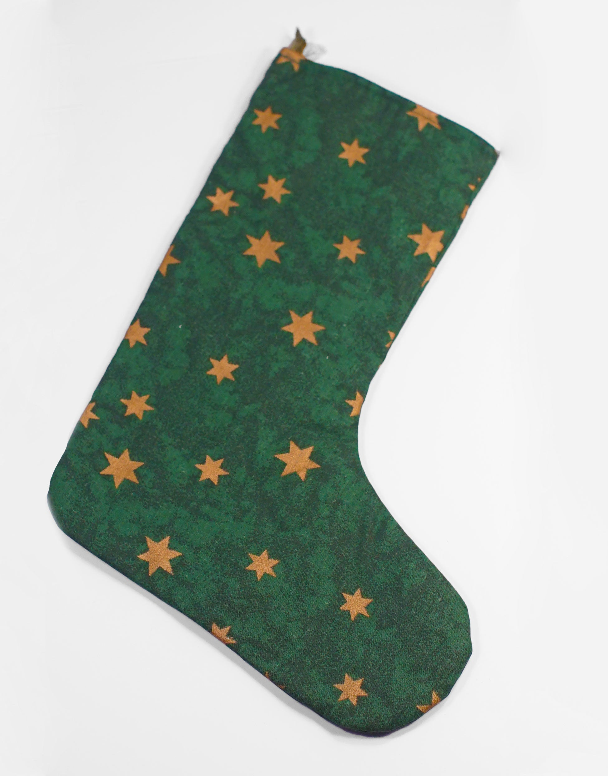 Green Christmas Stocking