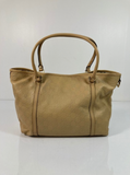Gucci Guccissima Leather Tote in Beige