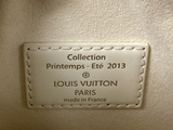Louis Vuitton Limited Edition Damier Facette Speedy Cube PM in White