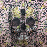 Alexander McQueen and Damien First Limited Edition 100% Silk Judecca Skull Scarf