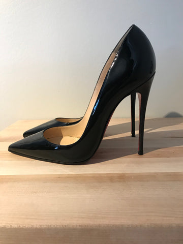 Christian Louboutin So Kate Patent Black 37.5