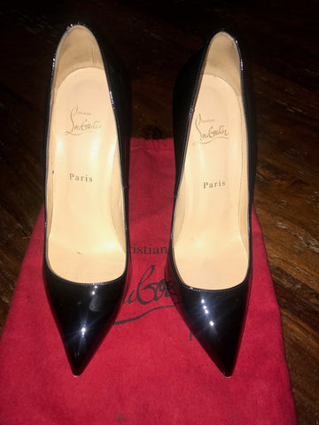 Christian Louboutin Pigalle Black 40.5