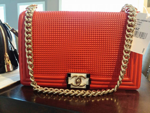 Chanel Boy Bag Red