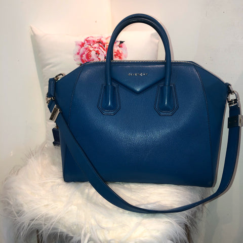 Givenchy large Antigona blue