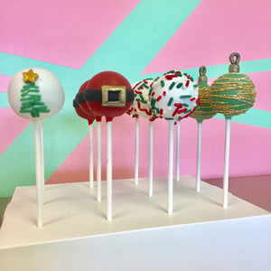 Pre-order for Holiday Cake Pops