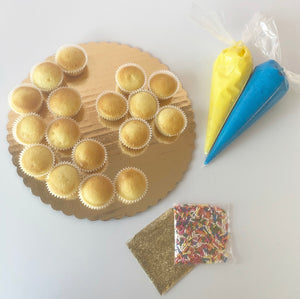 SHIPPED - Crescent and Star Cupcake Kit