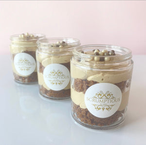 Biscoff Pie Jars