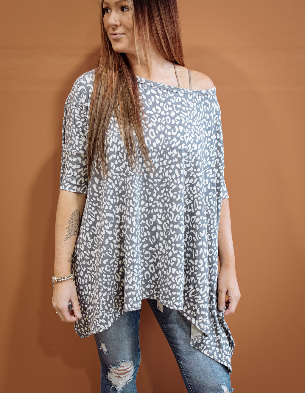 On the Hunt Leopard Tunic