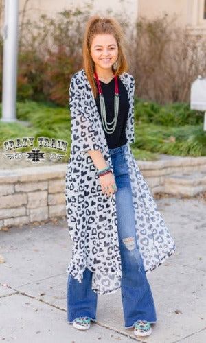 CT Leopard Love Duster