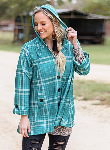 Palo Duro Plaid Jacket