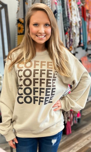 Fifty Shades of Coffee Sweatshirt