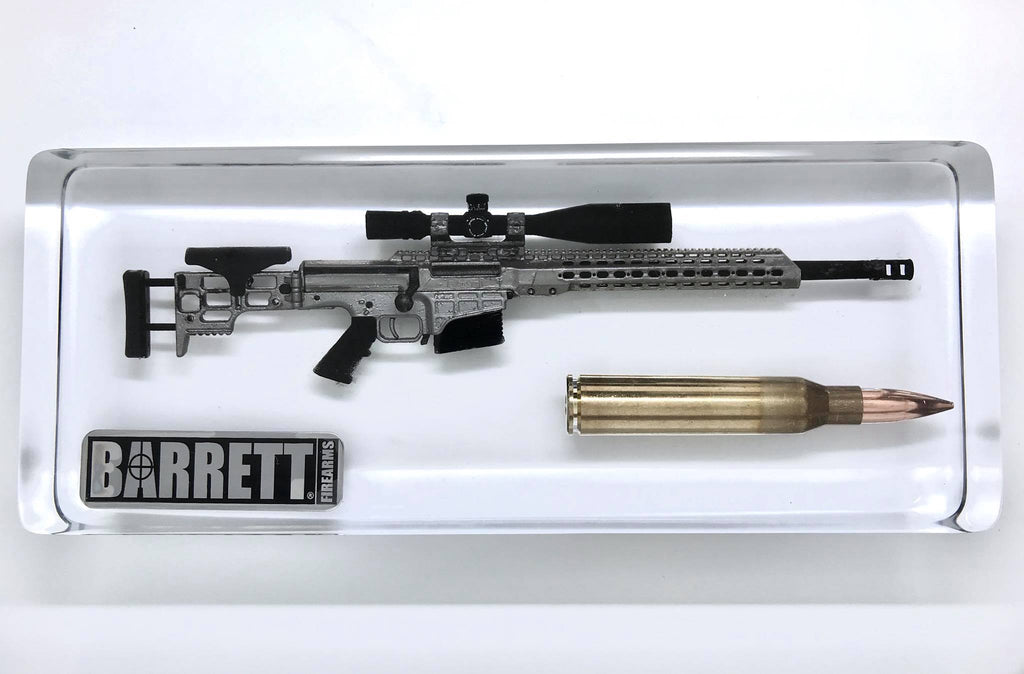 Barrett MRAD 338 Lapua Magnum 1/6 Scale Replica Display