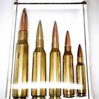 High Caliber Rifle Block Display