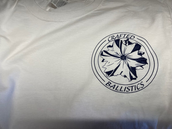 Crafted Ballistics Short Sleeve shirt Plain white logo