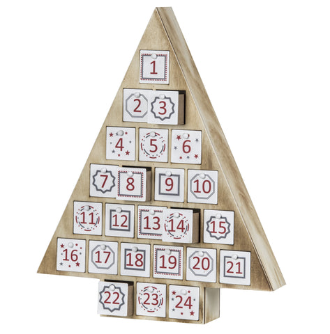 Rogue Merry Advent Tree Calendar 38 cm H