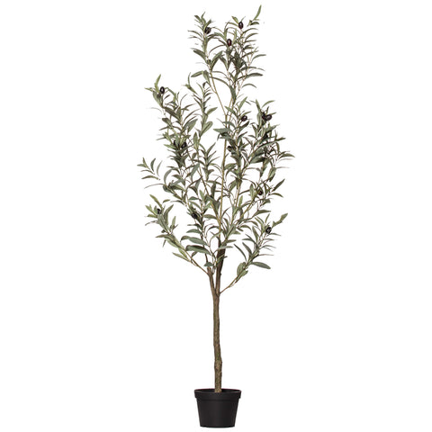 Rogue Artificial Plant Green Olive Tree 120 cm