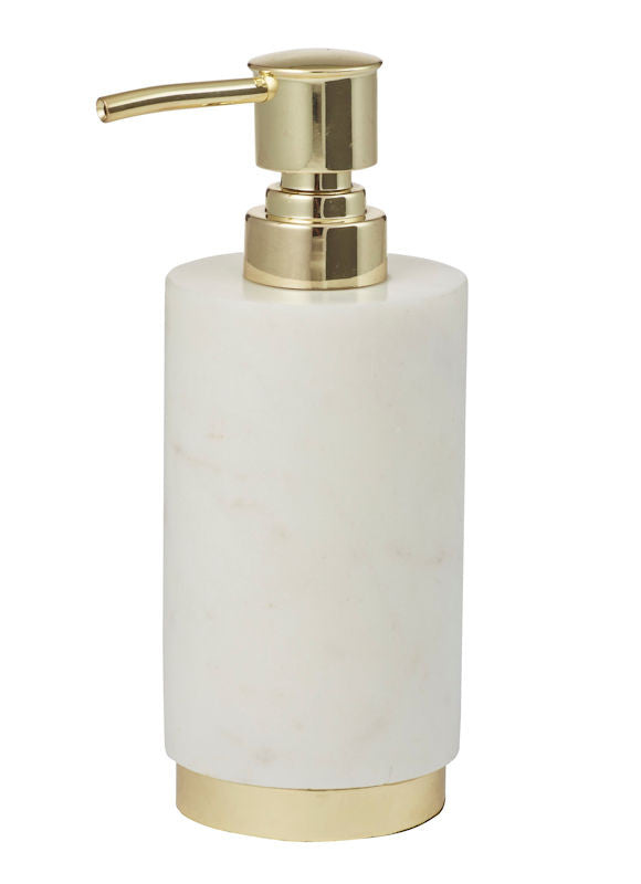 Amalfi Marble Brass Lotion Holder 7 x 17.5 cm