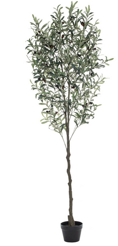 New Rogue Artificial Plant Olive Tree in Green 180 cm