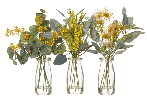 New Rogue Artificial Aussi Mix Native Flower in YELLOW THEME 3 choices