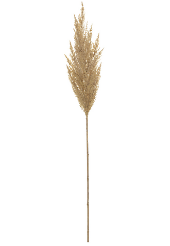New Rogue Artificial Plant Pampas Grass Spray Stem in Natural 92 cm