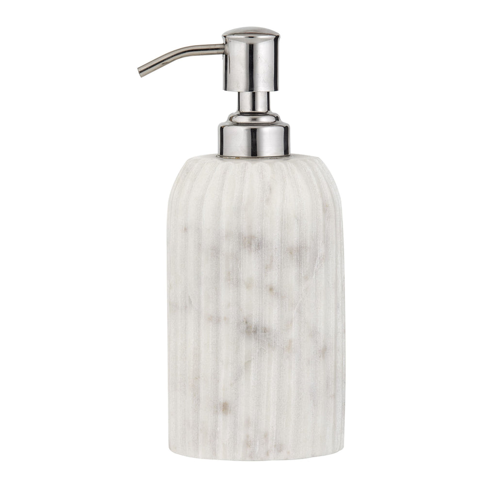 New Amalfi ISSEY Soap Dispenser White Marble Kitchen Bathroom 250 ml