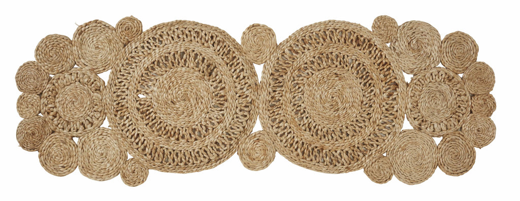 "Amalfi ""CARRIE"" Jute Table Runner in Natural 35 x 110 cm"