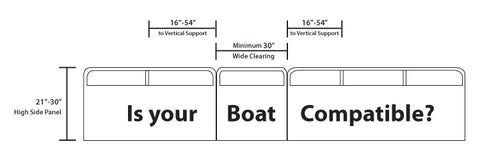 Rave Sports Pontoon Slide specifications for your boat.