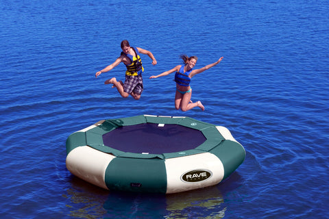 Rave Floating Trampoline Aqua Jump 120 Northwoods