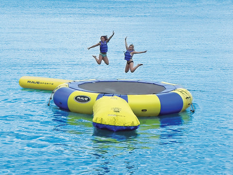 Rave Sports Water Trampoline Aqua Jump 200 w/Launch and Log
