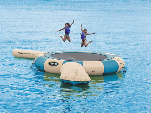 Rave Sports Water Trampoline Aqua Jump 200 w/Launch and Log Northwoods