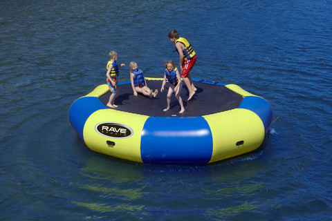 Rave Floating Trampoline Water Bouncer Bongo 15